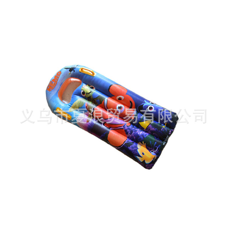 Manufacturers supply cartoon inflatable water inflatable surfboard floating plate(China (Mainland))