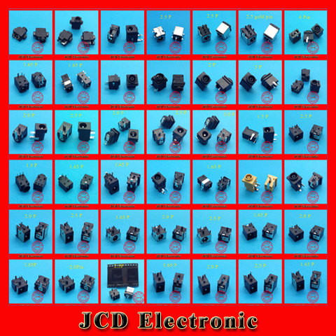 1 lot /42 Model /84pcs Widely Using Laptop Power DC Jack Connector, Socket(China (Mainland))