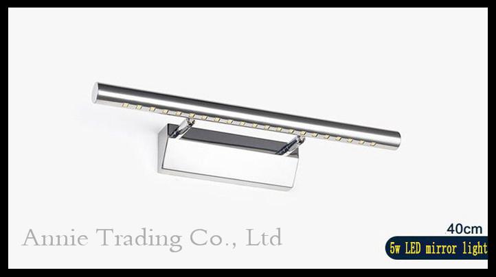 90V - 265V AC 5W led mirror lights lamp abajur Bathroom wall lighting SMD5050 LED kitchen cabinet ikea dressing table lamparas<br><br>Aliexpress