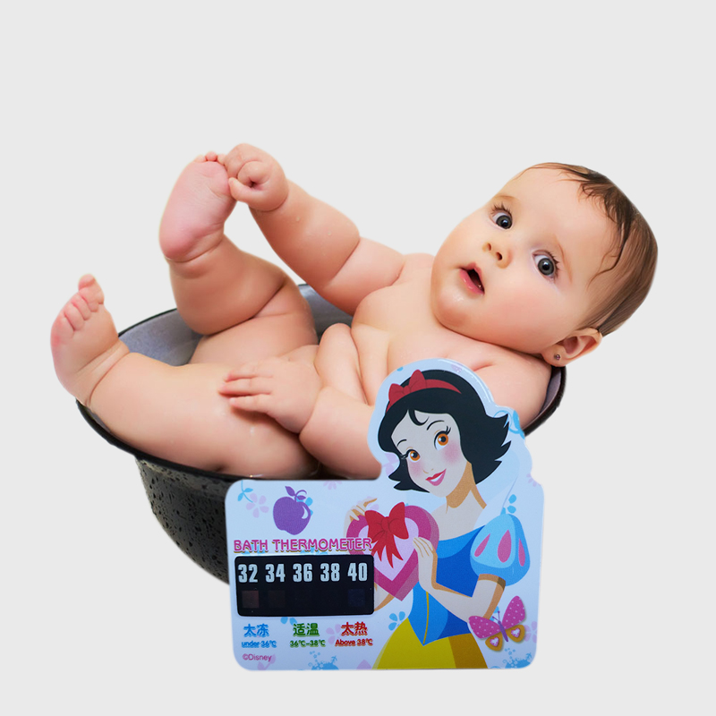 Beauty Girl Cartoon LCD Bath Thermometer , Infant Bath Water Temperature, Digital Thermometer,Plastic Temperature Thermometer(China (Mainland))