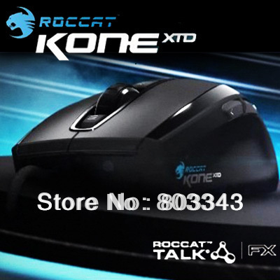ROCCAT Kone XTD Max Customization Gaming Mouse, 8200DPI, Lager Sensor, Orignal & Brand new in BOX, Free shipping