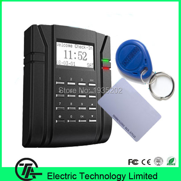 SC203 125KHZ RFID card access control time attendance smart cart access control communication with TCP/IP, RS232/485, USB-Host(China (Mainland))