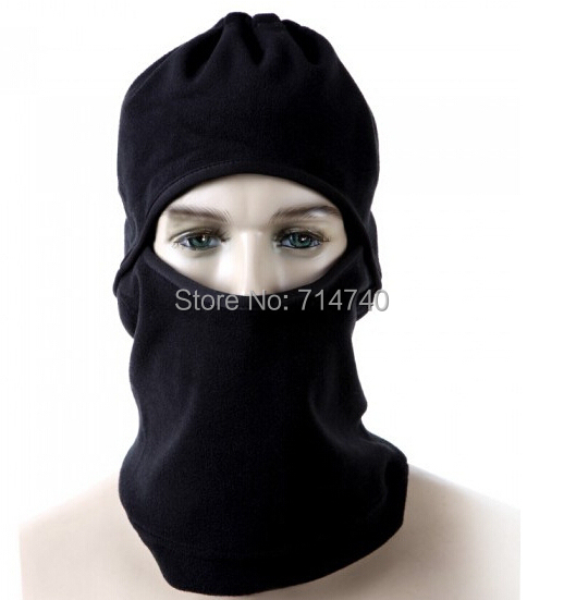 Motorcycle Thermal Fleece Balaclava Neck Winter Ski Full Face Mask Cover Hat Cap outdoor camping climbing cycling - Tactical's store