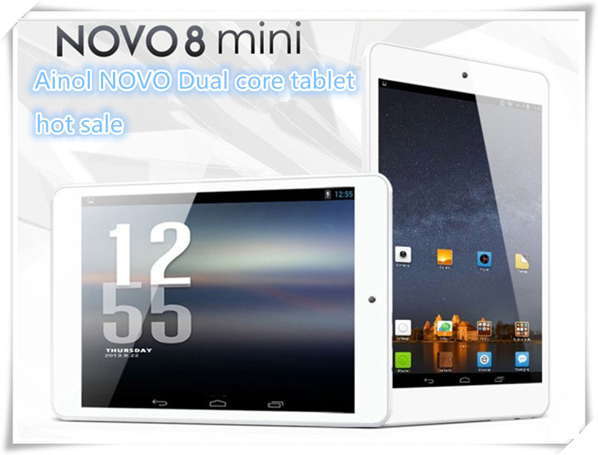 2015 ainol 7.85inch tablet pc novo mini 1024*768 Quad core ATM7029 build in bluetooth HDMI android mini pc without 3G GPS FM(China (Mainland))