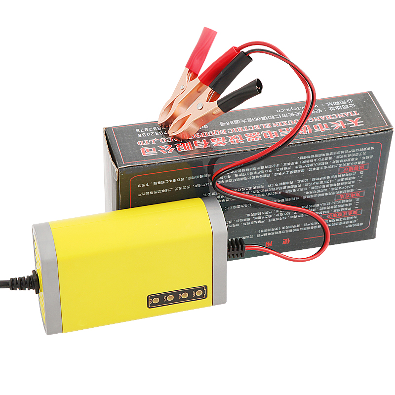 Motorcycle Battery Charger 12V 2A LED Power Supply Adapter Auto Lead Acid Battery Charger 12V Suitable for battery 12v wholesale(China (Mainland))