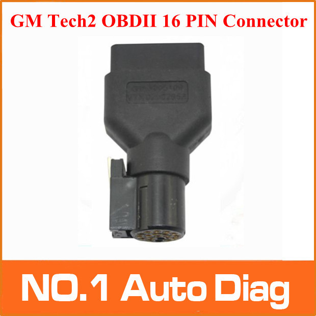 Top-rated GM TECH2 OBD Diagnostic Tool 16 PIN OBD2 Adapter OBDII Auto Scanner Adaptor Free Shipping(China (Mainland))