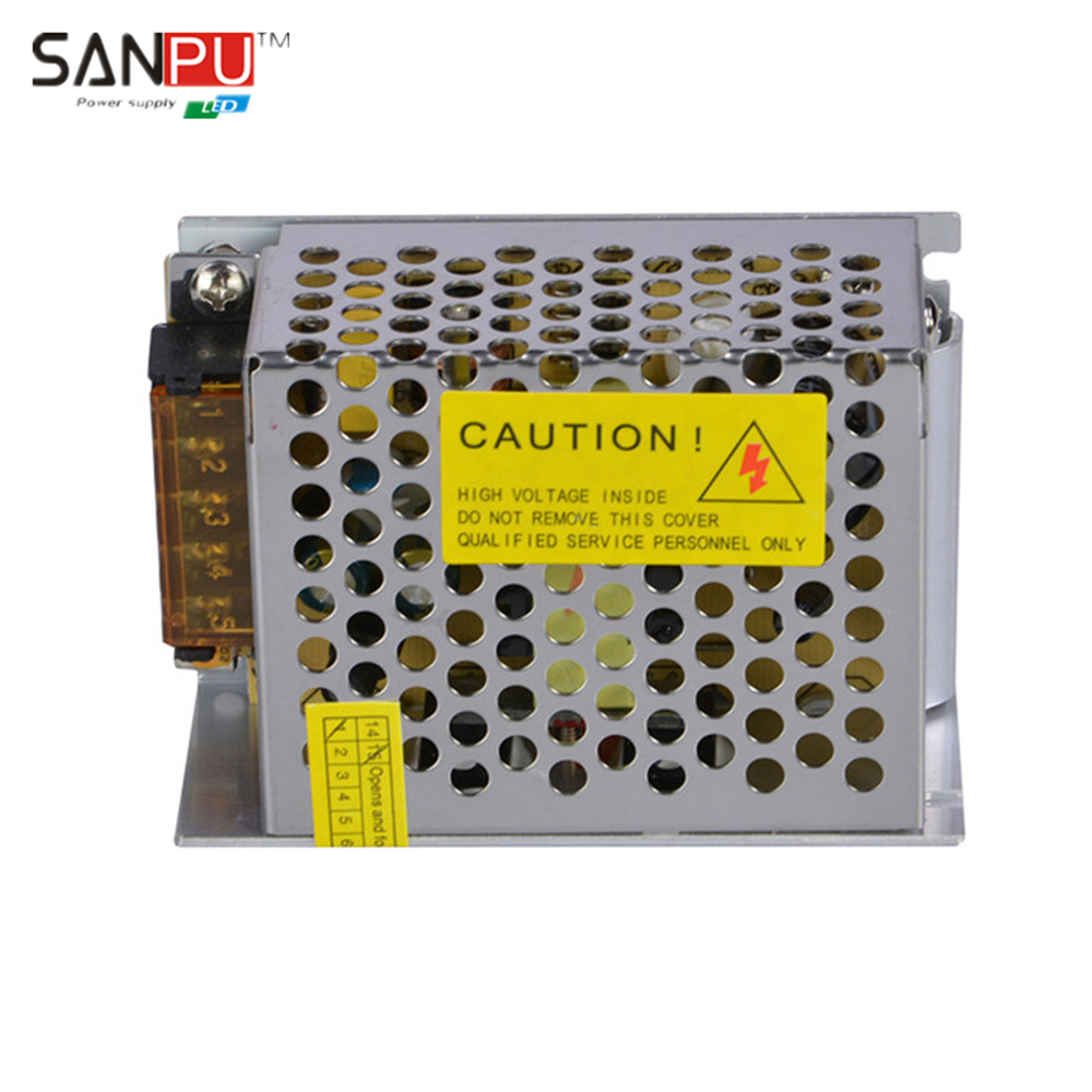 SANPU SMPS LED Power Supply 5v dc output 110v 120v ac input transformer 36w Constant Voltage Switching Driver for LED Display(China (Mainland))