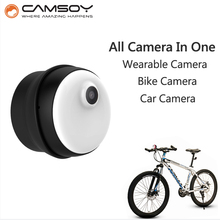 Multipurpose CAMSOY M1 Wearable Body Camera Car Mini Micro Camera Mini Camera HD 720P Camera Magnetic Clip Mini DV(China (Mainland))