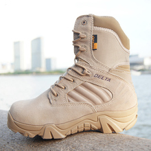 Winter/autumn Men Quality Brand Military Leather Boots Special Force Tactical Desert Combat Boats Outdoor Shoes Snow Boots(China (Mainland))
