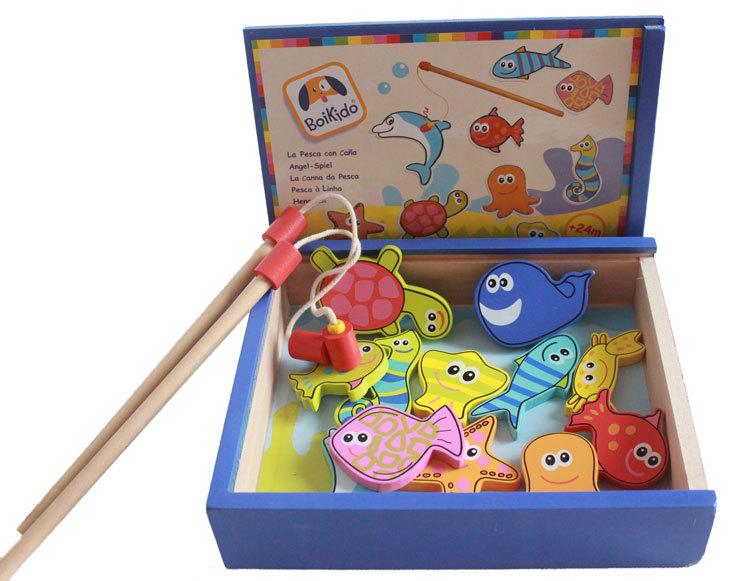 игрушки от магнитами в целях рыбалки