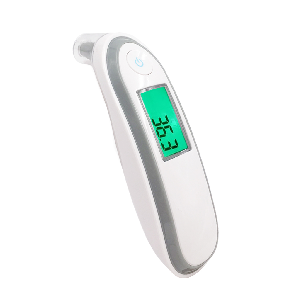 Diagnostic-tool Infrared Baby/Adult Thermometer Ear Forehead Body Digital Termometro LCD Screen Smart Alarm(China (Mainland))