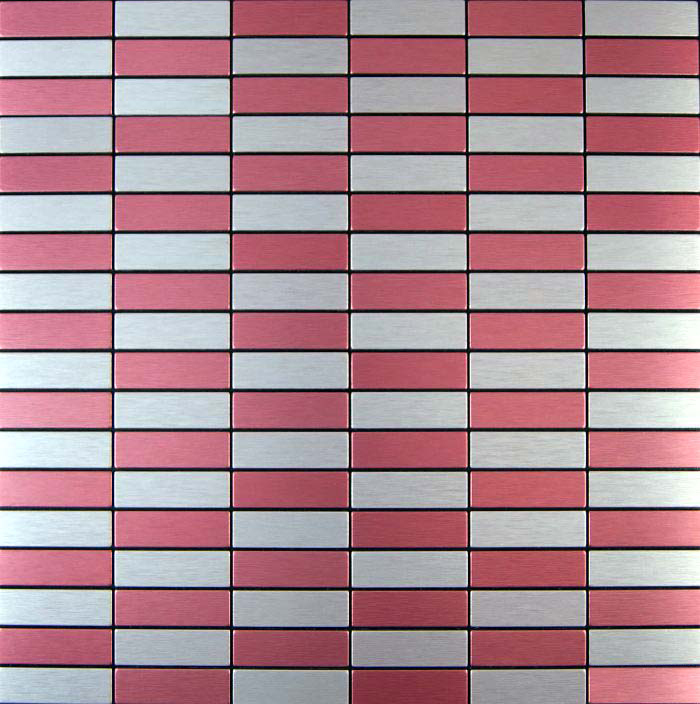 Wall Sticker Wholesale 11 Sheets Red Kitchen Backsplash Vinyl Tiles Self Adhesive Bathroom