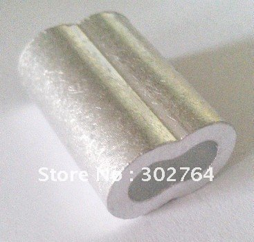 aluminum FERRULES TO SUIT 8MM*50PCS STAINLESS WIRE ROPE free shippingmarine hardware