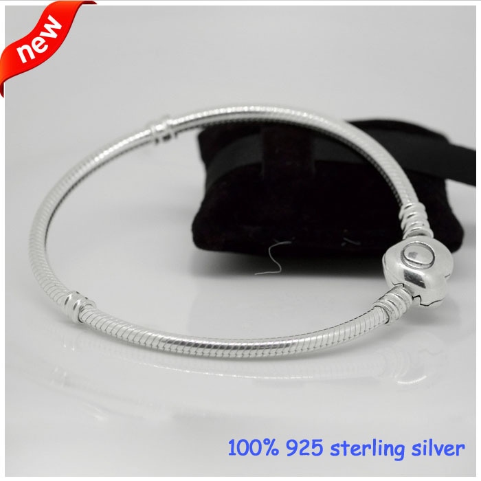 Compatible with Pandora Jewelry Signature of Love Bracelets New Original 100% 925 Sterling Silver Bracelet DIY Jewelry Wholesale<br><br>Aliexpress