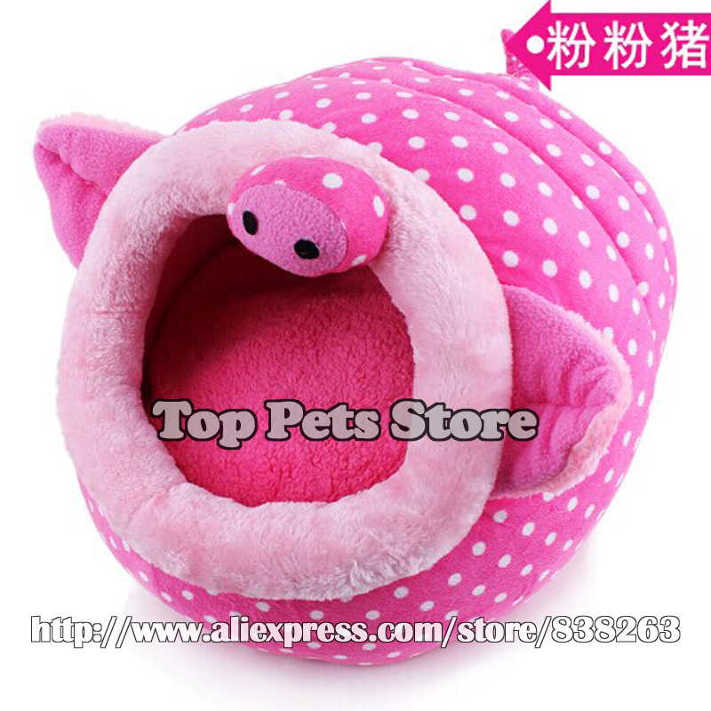 Hot sale animal pattern Pet bed Dog house Cat nest Novel pet bedding Small dog kennel house Washable removable Pet accessories(China (Mainland))