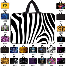 fashion 7 10 12 13 15 17 inch sleeve case carry handbag for laptop tablets notebook soft cover 13.33'' 15.6 computer bag netbook(China (Mainland))