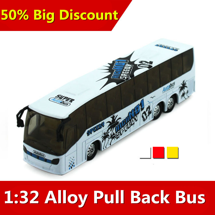 High Simulation 1:32 alloy big bus travel sound and light back school bus models Vehicles Toys for Collection(China (Mainland))