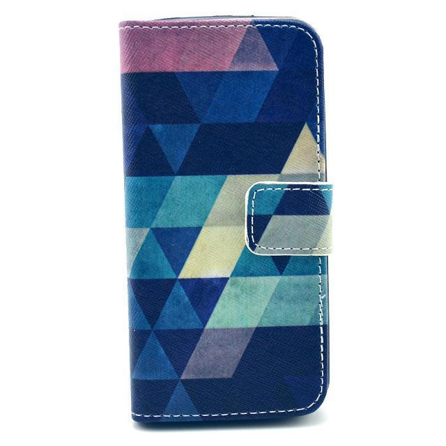 For iPhone 5 iPhone 5S Flower Cartoon Animal Design Magnetic Holster Flip Leather Phone Case Cover Wallet Card Slot