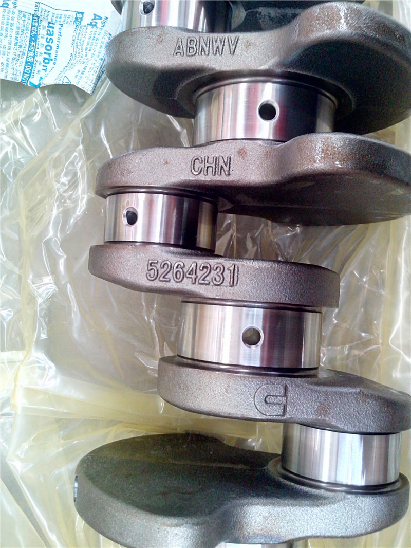 Genuine ISF2 8 forged crankshaft for FOTON engine parts