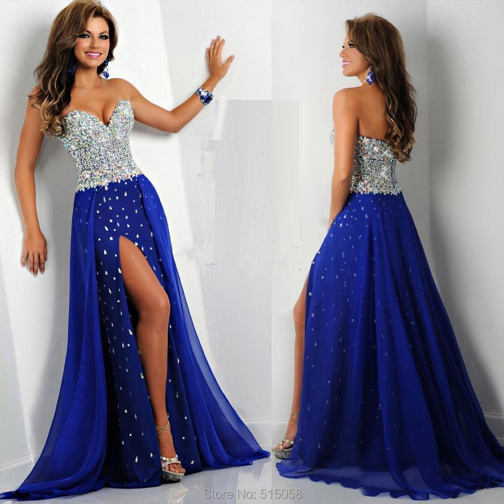 Blue Mermaid Dresses