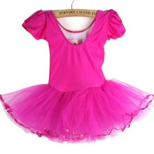 2016 Girls Kids Baby Candy Color Tutu Dress Dance Costumes Ballet Dancewear 3-7Y(China (Mainland))
