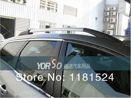 Mazda CX-7 CX7 07-12 Decorative Roof Rack Side Rails Bars 2007 -2012(China (Mainland))