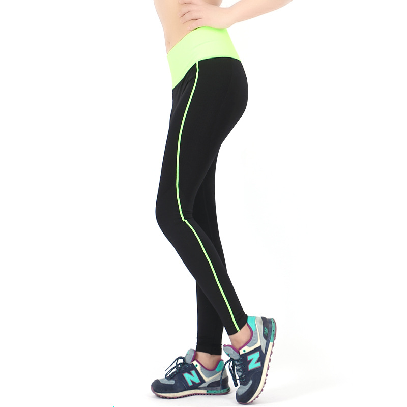 High Quality Women sport legging Summer Autumn 2016 New Lady Fitness super stretch trousers legging Gym Running Lady pants Y202(China (Mainland))
