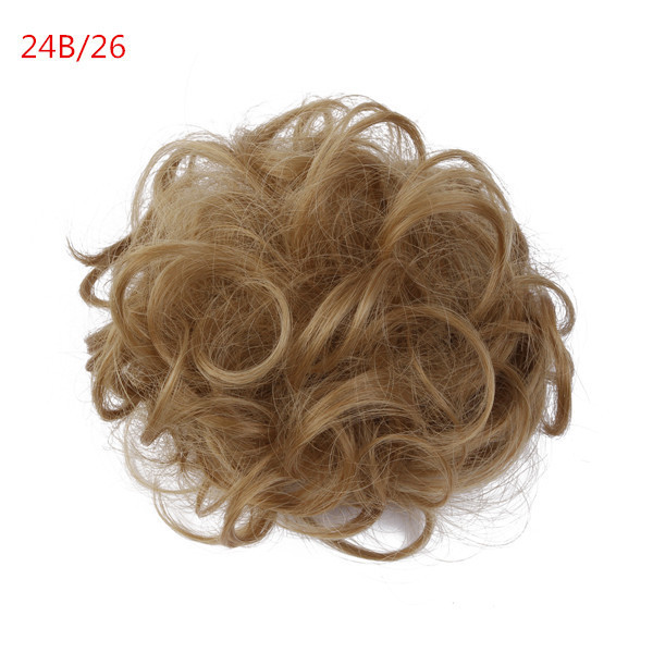 Curly Bun Hair Pieces Synthetic Curly Hair Bun