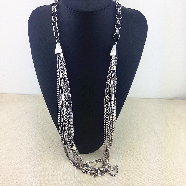 Buy Unique Fine Alloy Accessories Fashion Necklaces For Women Long Jewelry