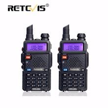 2pcs Retevis RT5R Portable Walkie Talkie 5W 128CH VHF UHF Dual Band Handy Ham Radio Hf Transceiver Two Way cb Radio Communicator(China (Mainland))