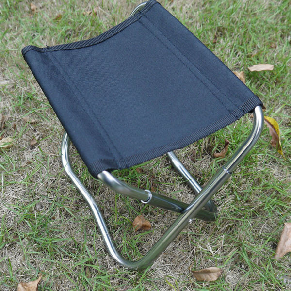 Steel Camping Portable Chair for Outdoor Camping/Picnic/Hiking/Motorcycling/Bicycling/Fishing/Garden BBQ/Beach/Patio  от Aliexpress INT