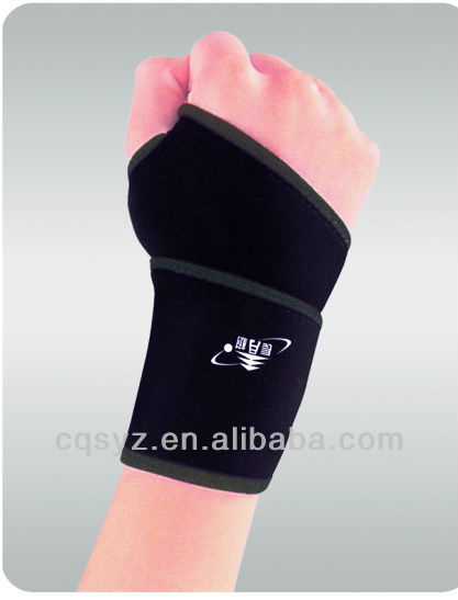 Free Shipping 0603 Elastic neoprene wrist support sports wrist brace wrist guards wrist protector(China (Mainland))