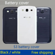 Original Battery Door Back Cover Rear Door for Samsung Galaxy S3 i9300 Back Housing Rear Case Black White 1PC Free Shipping