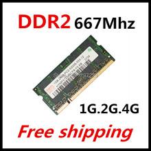 Brand 1gb 2gb 4gb ddr2 667Mhz pc2-5300 sodimm laptop, ddr2 667 2gb pc2 5300 dimm notebook, memory ram ddr2 2gb 667 mhz sdram(China (Mainland))