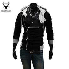Winter&Autumn Fashion Brand Hoodies Men Casual Sportswear Male Hoody Zipper Long Sleeve Sweatshirt Jacket Plus Size 5XL(China (Mainland))