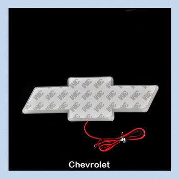 Chevrolet Sail Red Auto Badge Emblem Lamp LED Car Decal Logo Tail Light Free Shipping