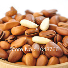 Nut roasted seeds and nuts casual food dried fruit child wild pine nuts 250g Chinese green food free shipping