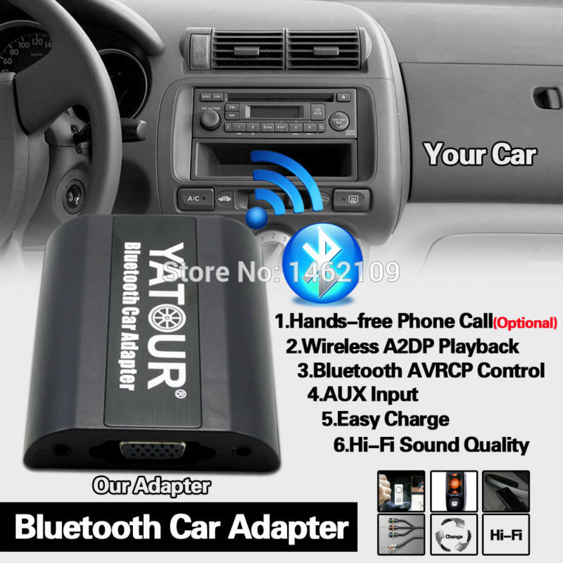 Bluetooth Adapters for Any Car at m