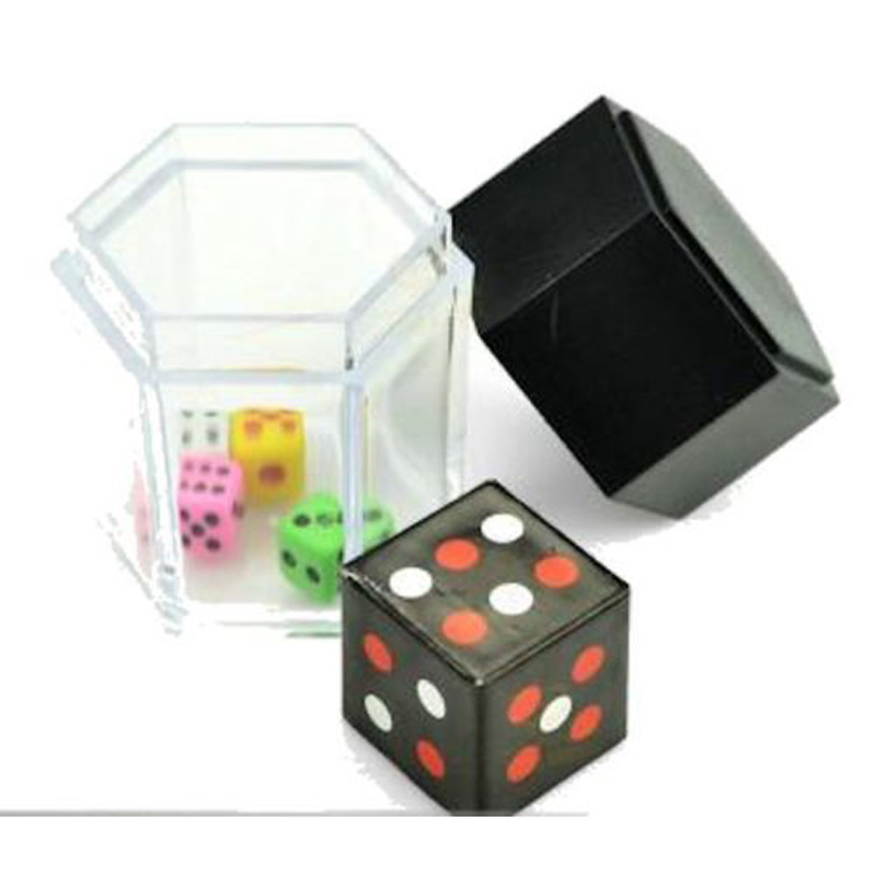 Dice Explosion Die Exploding Bomb Colour Changing Quick Change Close Magic tricks(China (Mainland))