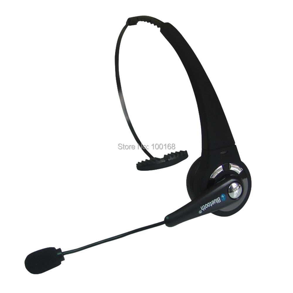 Wireless Bluetooth Headset with Microphone Noise Canceling & Handsfree for Samsung/iPhone/HTC & Cellphone CSR 130mAh LEVN 068-Bl