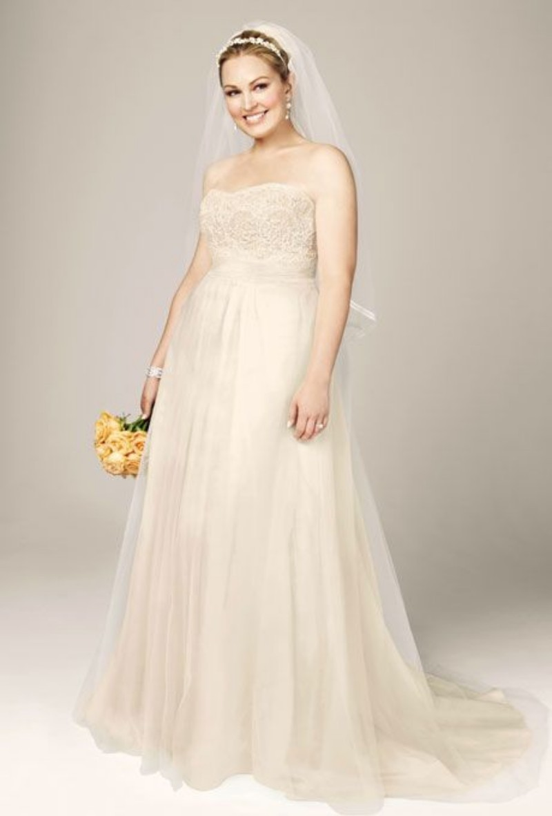 Champagne vintage chart promotion online shopping for for Plus size champagne colored wedding dresses