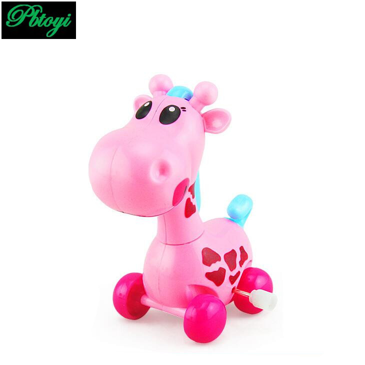 New pattern cochain giraffe head tail will swing children spring little gift toys factory direct sales FX1008(China (Mainland))