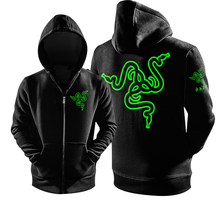 Gaming Gamer Men Hoodie Zipppp Coat Sweatshirts Long Sleeve Loose Tracksuit With Pocket Clothes(China (Mainland))