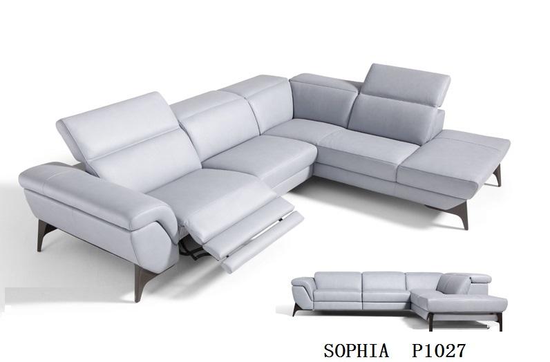 Online kopen wholesale elektrische lederen fauteuil uit china elektrische lederen fauteuil - Woonkamer met hoekbank ...
