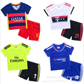 For 2 14T Fashion Sports Kids Boys Soccer Clothing Sets Childrens Football Twinset Breathable Clothes Sport
