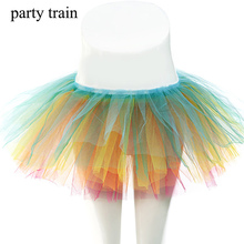 Buy 2017 Women Party Tulle Skirt Performance Dance New fashion Charming Layers Tutu Skirts Sexy Elastic Waist Mini Skirt for $8.66 in AliExpress store
