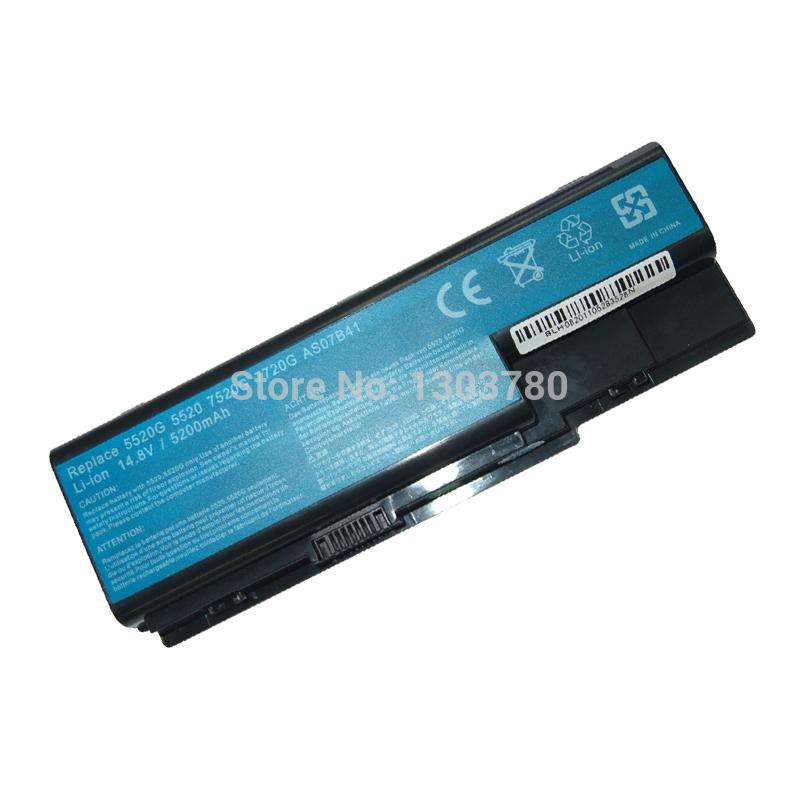 4400 mah batterie d 39 ordinateur portable pour acer aspire. Black Bedroom Furniture Sets. Home Design Ideas
