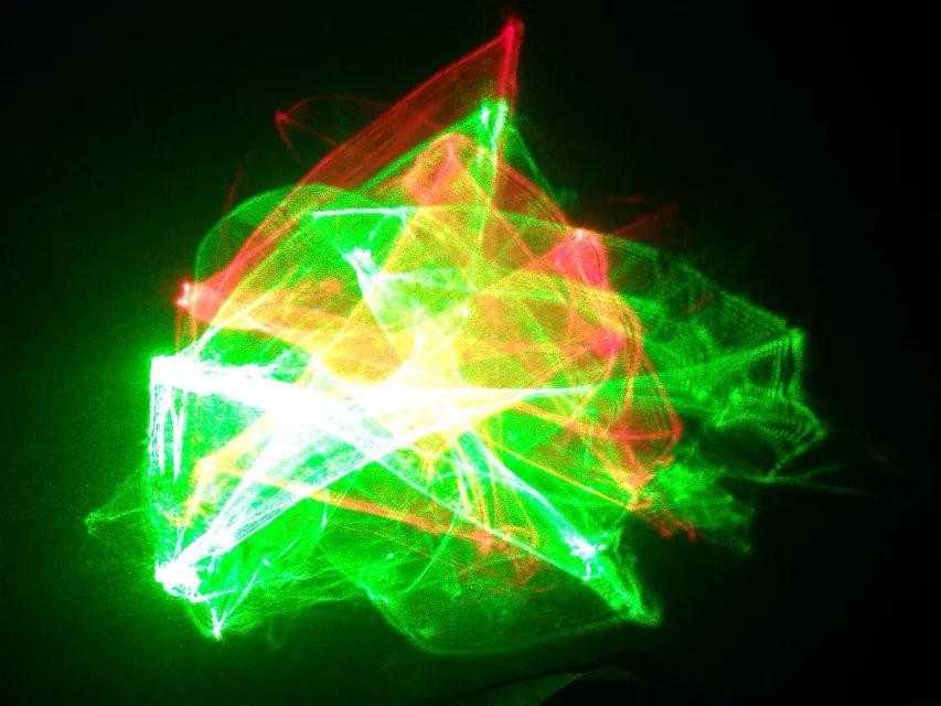 Купить Лучшие продажи новое поступление 9 Вт * 6 шт. 48leds гамма KTV супер магия мини лазерный свет, Дискотека лазерное шоу системы на рождество событие ну вечеринку
