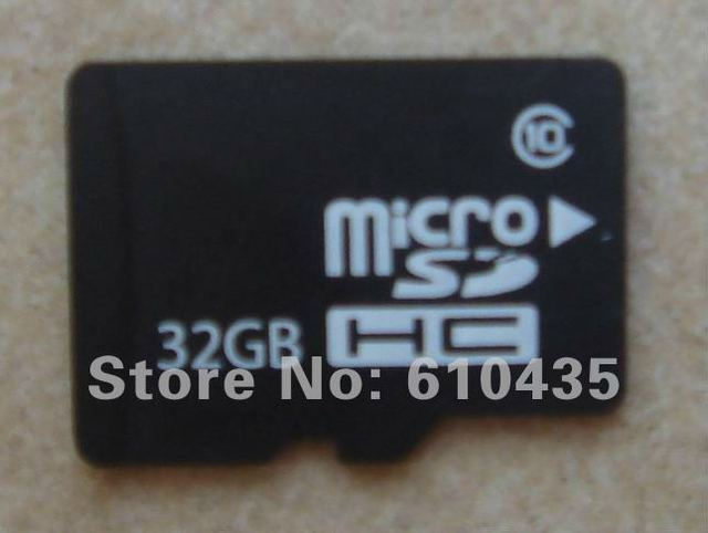 the fastest Micro SDHC TF Memory card 32GB real Class 10 High speed read 20MB write 16MB,free shipping