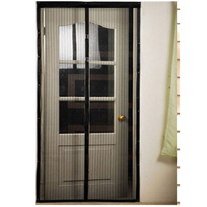 Delicate Magnetic Mesh Net Screen Anti Mosquito Bug Fly Home Gate Door Curtain Hot Selling(China (Mainland))